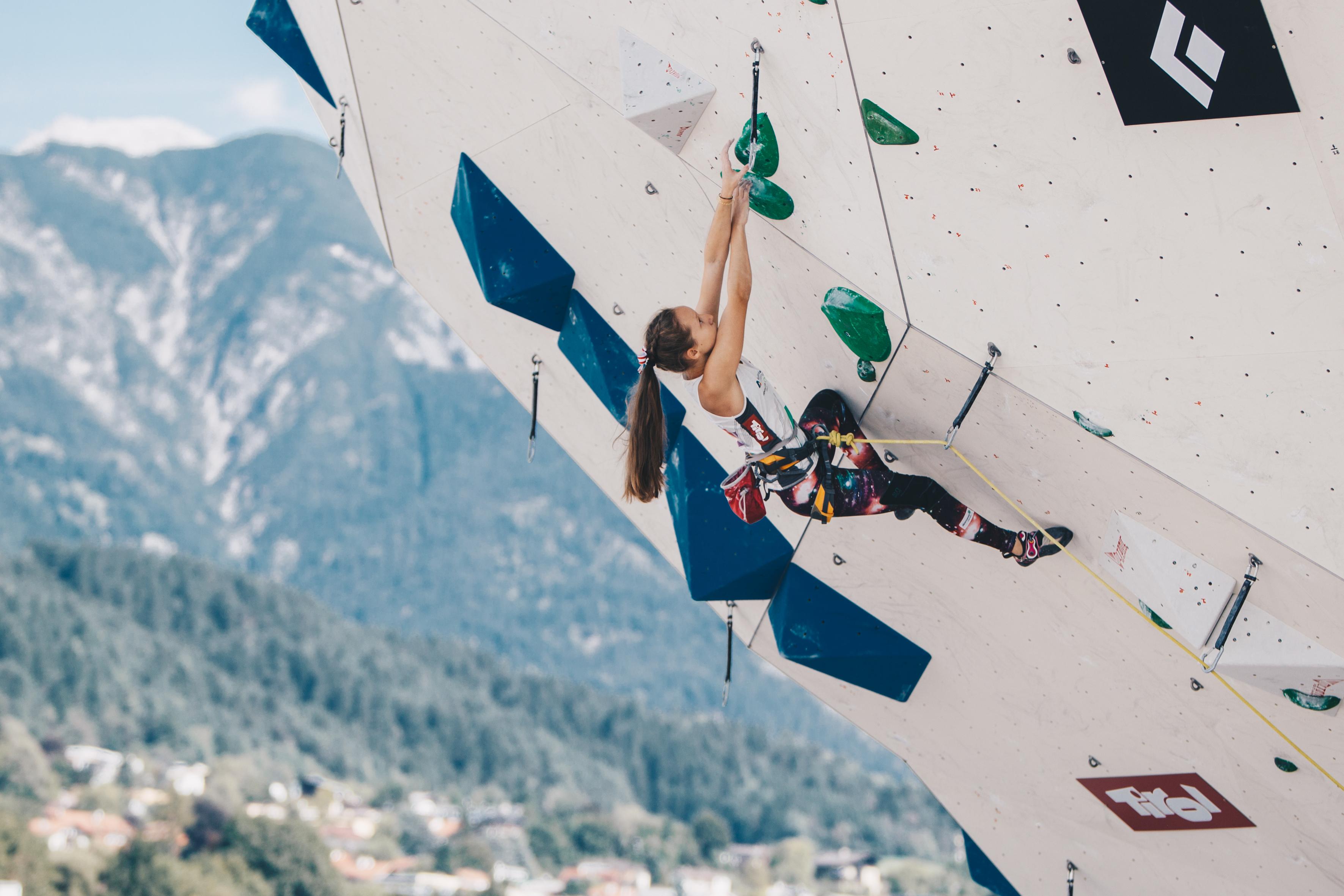 Kletterausrüstung Schweiz : Kletter weltmeisterschaft innsbruck pr schweiz