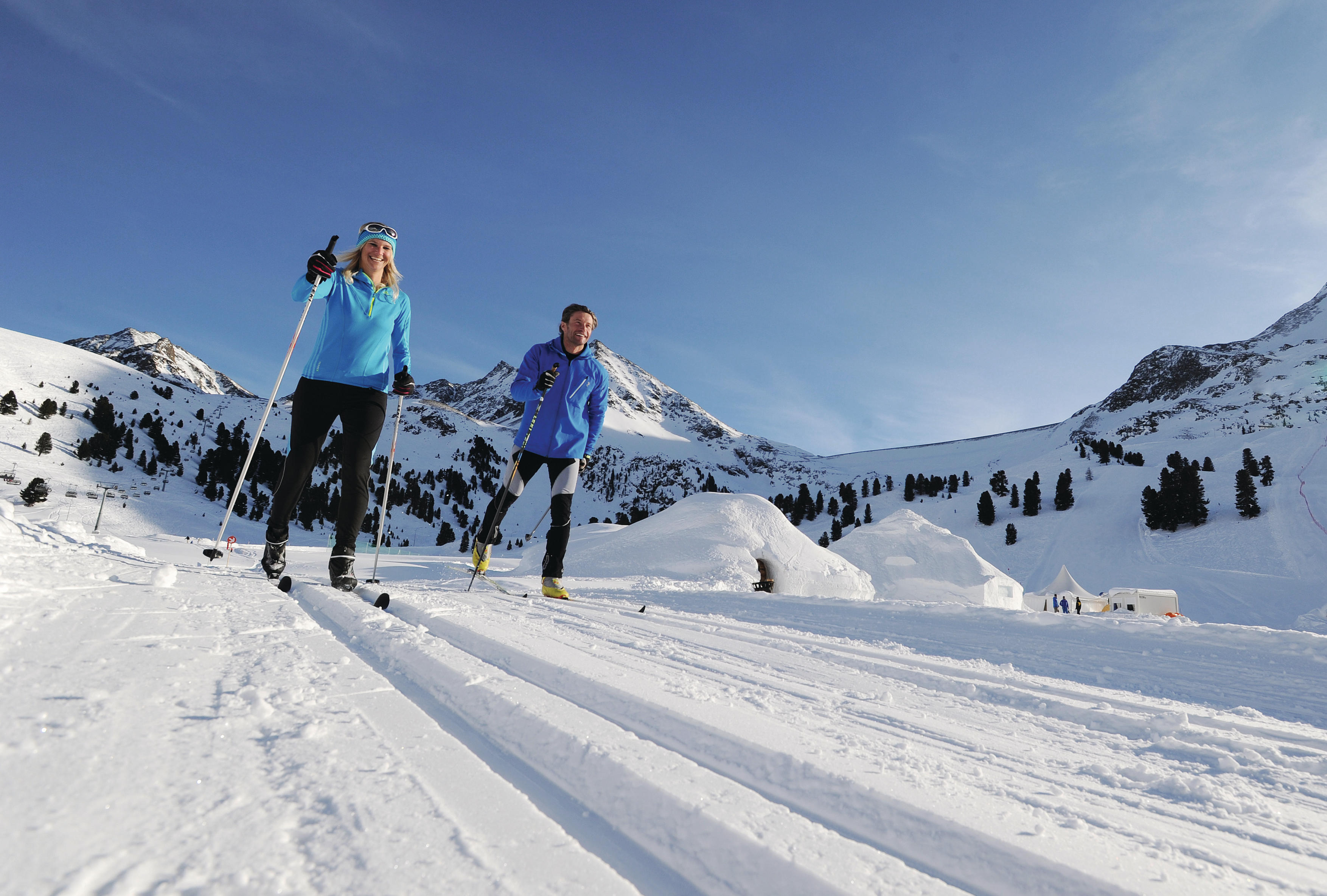 Ski in – Ski out – Ski free im Ski Resort Kühtai